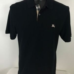 Burberry Brit Mens Polo Shirt Size Large Solid